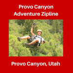Provo Canyon Adventure Zipline